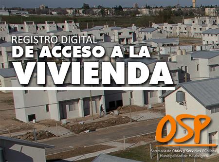 Registro Digital de Acceso a la Vivienda