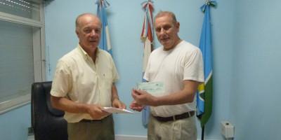 Aporte de $40.000 a Bomberos Voluntarios