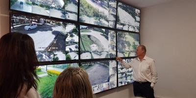 Se inauguró el Centro Integrado de Videovigilancia