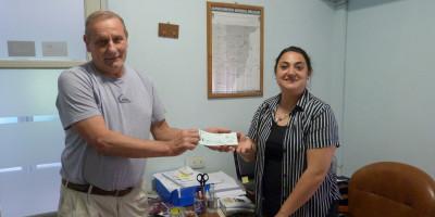 Aporte de $52.143 a Bomberos Voluntarios