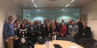 Amado Zorzón se reunió con miembros de la Unión Europea
