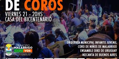 Festival Internacional de Coros en la Casa del Bicentenario