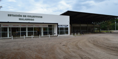 Construcción de Dársenas en la Estación de Colectivos