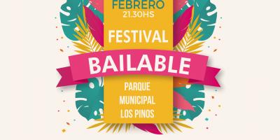Este Sábado: Festival Bailable en el  Parque Municipal Los Pinos