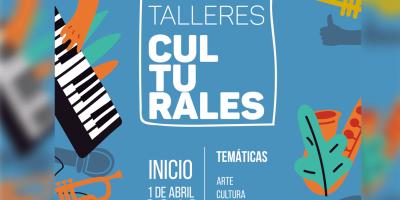 Talleres Culturales 2019: Más de 50 propuestas