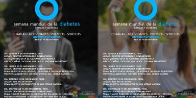 Actividades por el Día Mundial de la Diabetes