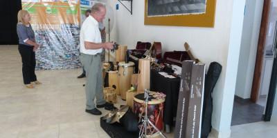 La Orquesta Infanto Juvenil recibió nuevos instrumentos