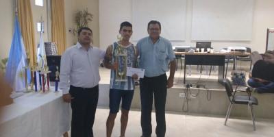 Felicitaciones a Julián Alzugaray campeón invicto