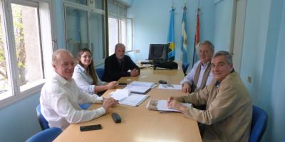 Reunión con representantes de Litoral Gas