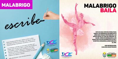 Malabrigo Escribe y Malabrigo Baila