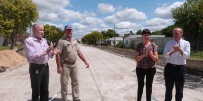 Malabrigo tiene otras 2 nuevas cuadras de pavimento
