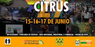 El lunes se presenta la 27ª Fiesta Provincial del Citrus