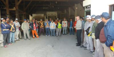 Reconocimiento a los trabajadores de Maestranza Municipal
