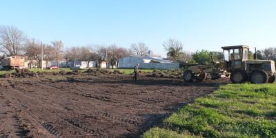 El Intendente visitó el inicio de obra del nuevo edificio del Jardín Nucleado