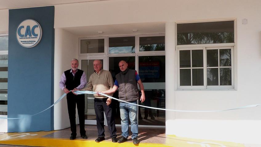 Se inauguró el Centro de Atención a la Ciudadanía