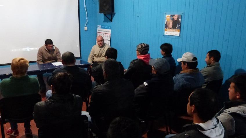 Se presentaron los cursos de Plomería y Albañilería
