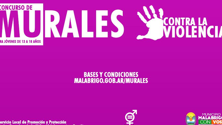 Concurso #MuralesContraLaViolencia