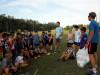 Entrega de pelotas de fútbol y básquet al Club Juventud